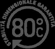Stabilita dimensionale garantita logo