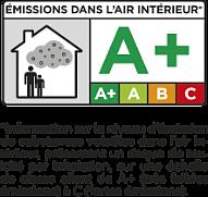 Emissions dans l'air interieur logo