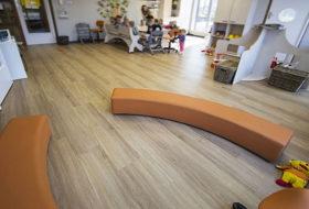 Per rifare i pavimenti in una casa di riposo o in un asilo, è consigliato il PVC?